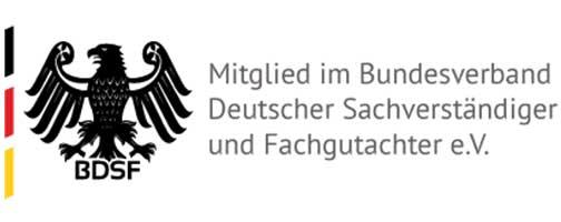 Logo des Bundesverband Deutscher Sachverständiger
