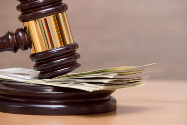 Buch Deutsche Gesetze, Detektiv wertet Betrugsfall aus