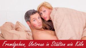 Mann und Frau gehen fremd in Kölner Hotel