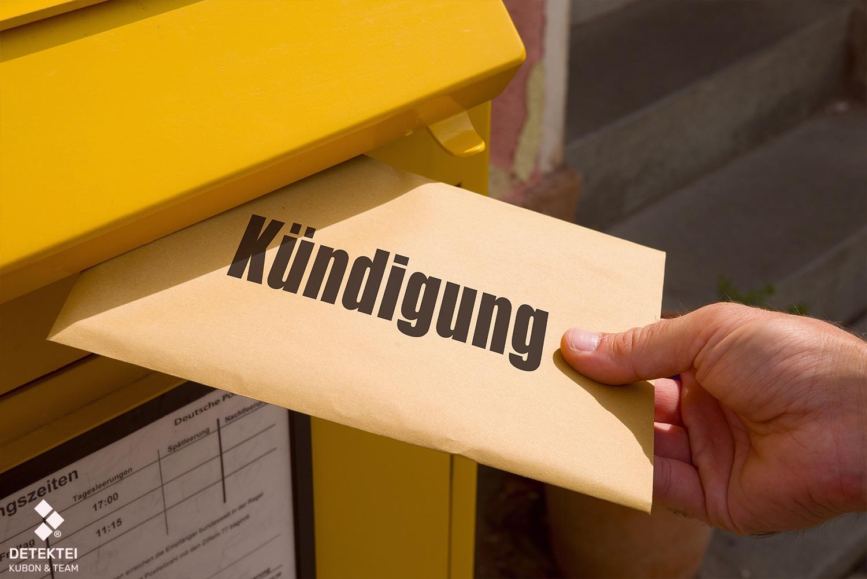 Mitarbeiter erhält eine Kündigung wegen genesungswidrigen-verhaltens
